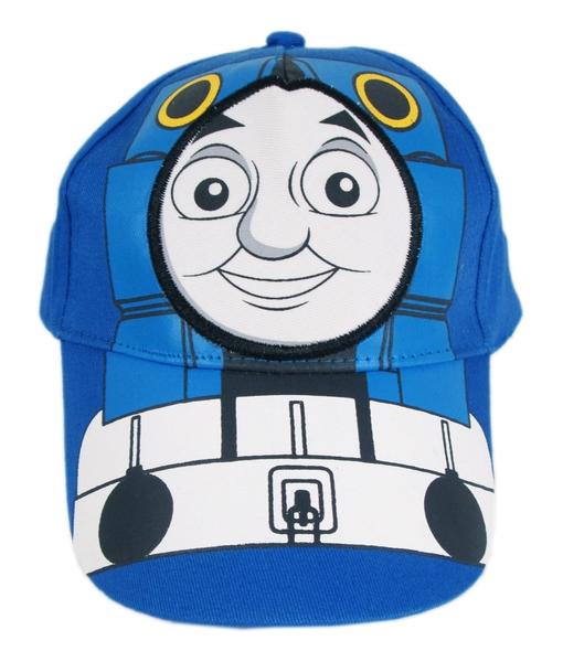 【卡漫城】 湯瑪士 帽子 Thomas 小火車 蒸汽 遮陽帽 棒球帽網球帽 男童 兒童 鴨舌帽 魔鬼氈 魔鬼沾