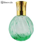 (螺紋淺綠) 大玻璃瓶 香薰瓶 薰香瓶 精油瓶