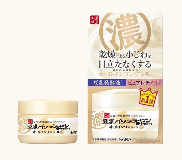 極品世界 SANA 豆乳美肌緊緻潤澤多效凝膠霜 100g