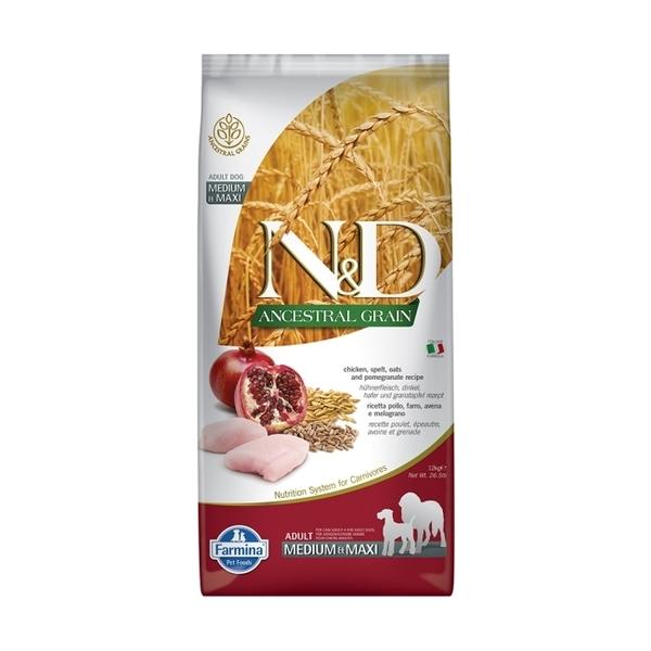【Farmina法米納】全齡犬天然低穀糧LD-8雞肉石榴(潔牙顆粒)12kg