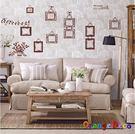 壁貼【橘果設計】回憶相框 DIY組合壁貼 牆貼 壁紙 壁貼 室內設計 裝潢 壁貼