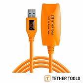 【南紡購物中心】Tether Tools CU3017 USB 3.0 專業拍攝線 傳輸線 4.9M