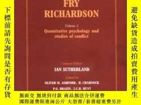 二手書博民逛書店The罕見Collected Papers Of Lewis Fry RichardsonY255562 Ri