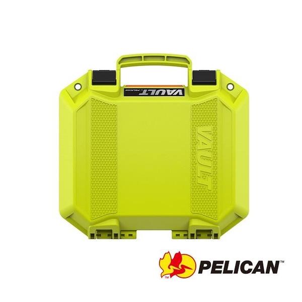【南紡購物中心】PELICAN V100C Vault Equipment 小型氣密箱 含泡棉(亮綠)