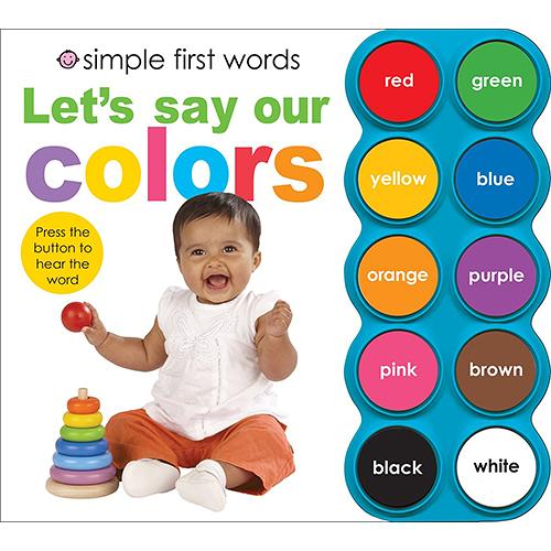 Simple First Word:Let's Say Our Colors 一起說出顏色有聲書(美國版)