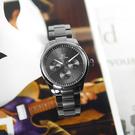 EROS CERES / GQ6158GU-GU / 經典潮流 三眼三針 藍寶石水晶玻璃 日期星期 日本機芯 不鏽鋼手錶 鍍灰 44mm
