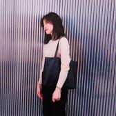 【春季上新】 韓版女包2019新款潮簡約百搭手提包學生書包托特包休閒單肩大包包