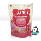 303561#ACE 紅色 水果Q軟糖 240g#有糖粉