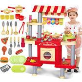 *粉粉寶貝玩具*豪華收銀烹飪雙面廚房組~收銀機 /微波爐 /洗碗機 /瓦斯爐具