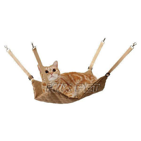 ◆MIX米克斯◆日本MARUKAN貓吊床CT-334,帆布材質,籠內可用吊掛式,貂可用