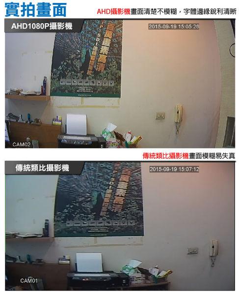 【CHICHIAU】AHD 720P 130萬畫素6陣列燈紅外線夜視監視器攝影機