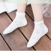 夏季薄款女童襪子純棉短襪花邊公主襪春秋短筒棉襪中大童 至簡元素