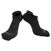 【岱宇國際Dyaco】SPIRIT 跑步踝襪(壓縮/除臭)-黑