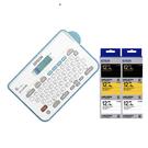 【任選市價399原廠標籤帶6捲】EPSON LW-K200BL 輕巧經典款標籤機