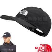 The North Face CF7W-JK3黑 TNF防曬抗UV鴨舌帽 運動帽/遮陽帽/登山帽棒球帽/戶外休閒帽