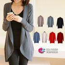 韓國連線針織外套 時尚風西裝式外套罩衫 艾爾莎【TAE1613】