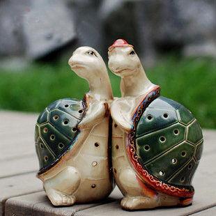 鏤空烏龜香薰燭台