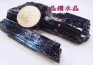 『晶鑽水晶』正統巴西黑碧璽原礦~鏡面光澤~又黑釉亮**新貨特惠中*中型3-4個