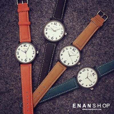 【買1送2】惡南宅急店【0557F】手錶 塗鴉數字錶 韓版新品 女錶男錶情侶錶情侶對錶皮帶錶