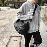 健身包旅行包包女短途出差旅游包游泳健身包獨立鞋位男女學生行李包潮包 雲朵走走