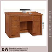 ★多瓦娜 17153-812003 愛麗絲樟木色4.2尺辦公桌