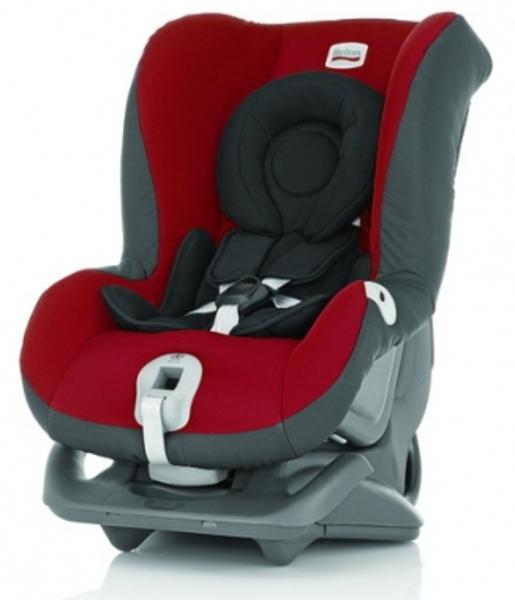 【愛吾兒】Britax FIRST CLASS PLUS 0-4 歲頭等艙安全汽座 紅黑 (BX08331)
