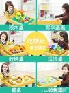 積木兒童多功能積木桌拼裝圣誕節禮物legao桌系列男孩子女孩益智玩具LX 小天使