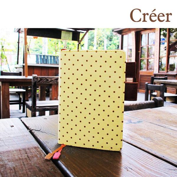 Creer NB-90043-50 A6/50K 半年誌/手札/(自填式方格1日1頁100磅)-水玉