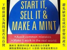 二手書博民逛書店Start罕見It, Sell It & Make a Mint