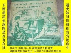 二手書博民逛書店最喜愛的歌曲罕見家 學院 教堂 FAVORITE SONGS F