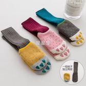 嬰兒襪子秋冬季加厚保暖學步寶寶0-1歲月3防滑棉質6幼童地板襪春