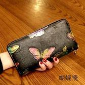 女士錢包長款復古手拿包【gogo購】