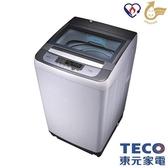 東元 10公斤定頻洗衣機 W1038FW【超纖細55.4cm↘送基本安裝】