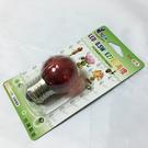 LED 0.5W E27 圓滿燈(1入)