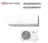 【富士通Fujitsu】4-6坪 變頻冷暖一對一分離式冷氣L系列(ASCG036LLTB/AOCG036LLTB)