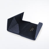 深灰牛仔三角眼鏡摺疊盒/收納盒/眼鏡盒-ASLLY濾藍光眼鏡