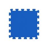 幻色巧拼地墊-寶石藍9入