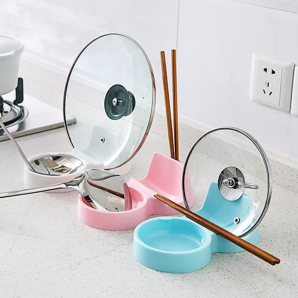 ♚MY COLOR♚廚房用品鍋蓋架 多功能 置物架 鍋鏟 湯勺 湯匙 飯匙 砧板 防漏 瀝水 衛生【J186】