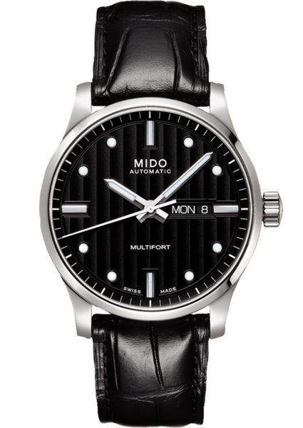 MIDO美度錶Multifort 自動機械皮帶男錶(M0054301603181)42mm