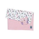 奇哥 PUP 豆趣毯+安撫巾禮盒-粉紅(禮盒包裝)[衛立兒生活館]