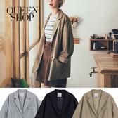 Queen Shop【02030332】素面西裝外套 三色售*現+預*