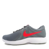 Nike Revolution 4 [908988-013] 男鞋 慢跑 運動 休閒 灰 紅