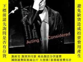 二手書博民逛書店Acting罕見ConsideredY256260 Phillip Zarrilli (editor) Rou