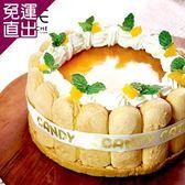 糖果貓烘焙 芒果夏洛特蛋糕(6吋)【免運直出】