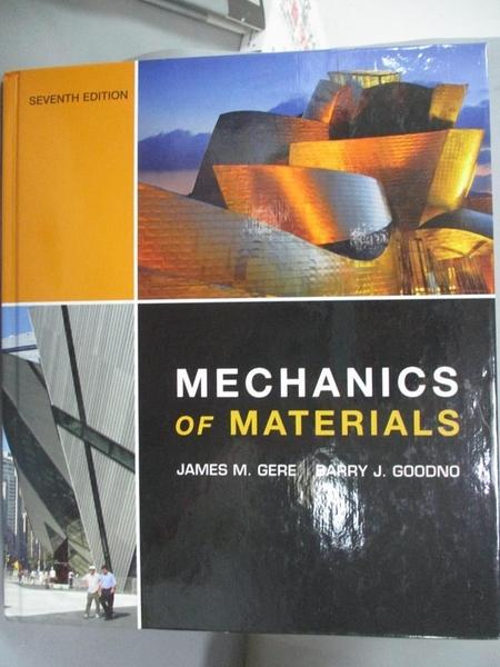 【書寶二手書T5/大學理工醫_XBU】Mechanics of Materials_Gere, James M./ Go