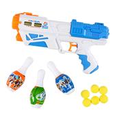 【888便利購】2合1安全軟球槍+水槍(附保齡球靶)(64829)