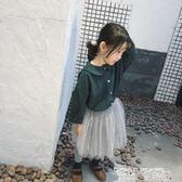 女童襯衫 女童寶寶長袖襯衫 全棉 秋童裝 版型洋氣的襯衫 童趣屋