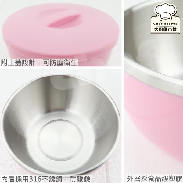 理想牌極緻316不鏽鋼隔熱碗附上蓋1000cc單入泡麵碗兒童碗-大廚師百貨