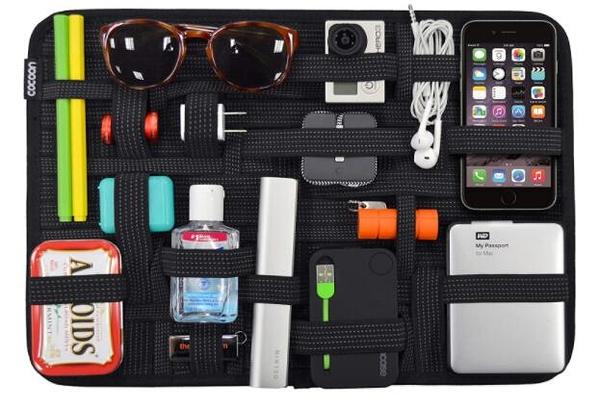 收納袋 Cocoon CPG51BK GRID-IT! Accessory Organizer xLarge 11吋x15吋 Luggage Accessory (Black)