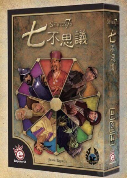 『高雄龐奇桌遊』 七不思議 SEVEN7S 繁體中文版 ★正版桌上遊戲專賣店★